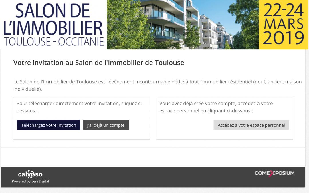 Salon de l'immobilier à Toulouse
