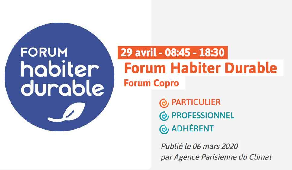 Forum Habiter Durable